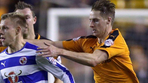 Wolves midfielder Dave Edwards