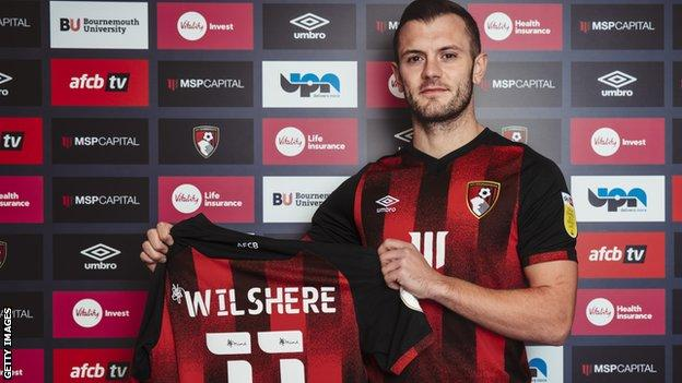 Jack Wilshere rejoins Bournemouth on a free transfer