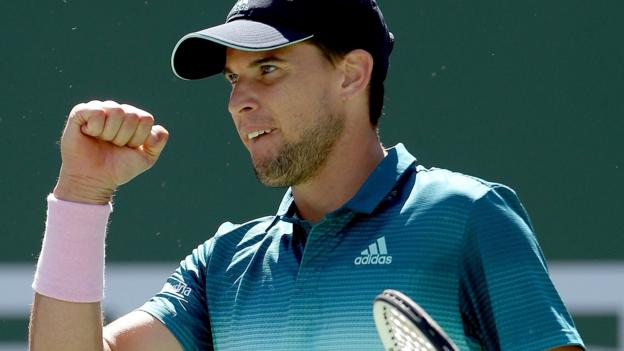 Indian Wells: Dominic Thiem beats Roger Federer to win title thumbnail