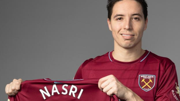 West Ham: Samir Nasri signs for Hammers on day doping ban ends
