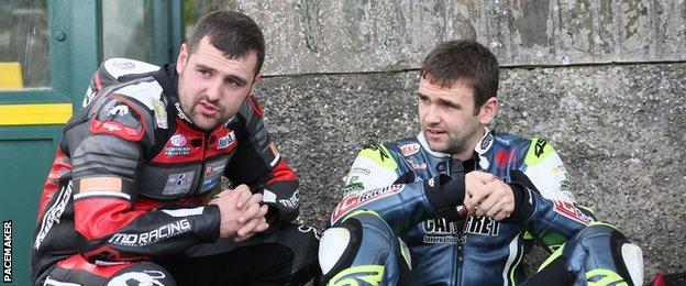 Michael Dunlop and William Dunlop