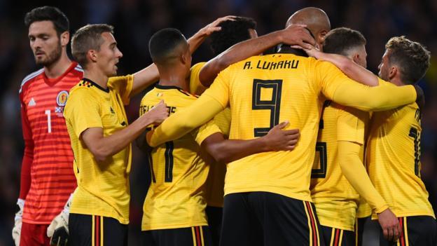 Scotland 0-4 Belgium: Lukaku, Hazard & Batshuayi score in Hampden romp thumbnail