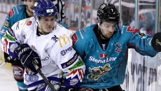 Elite League: Belfast Giants suffer fourth consecutive defeat in Coventry - BBC Sport