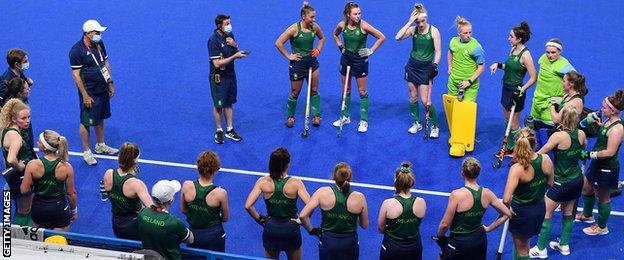 Mullan says Ireland are growing increasingly acclimatised to the heat in Tokyo
