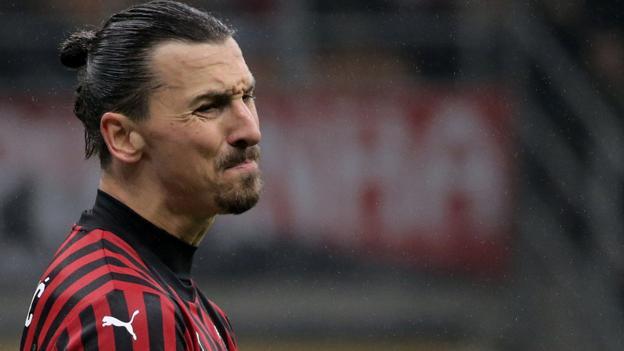 Zlatan Ibrahimovic: AC Milan striker suffers calf injury thumbnail