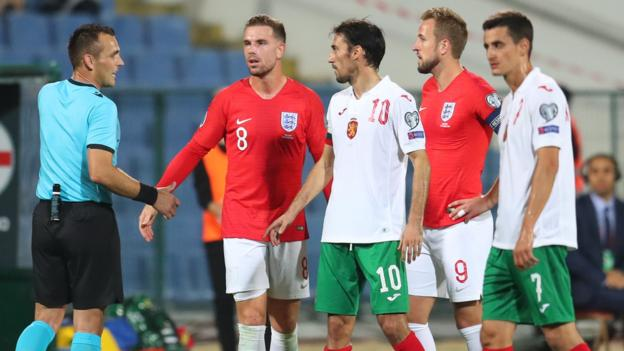 Uefa to decide Bulgaria punishment for racist abuse in England qualifier thumbnail