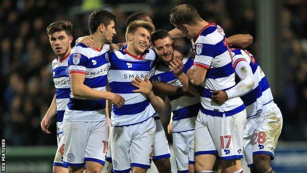 QPR celebrate