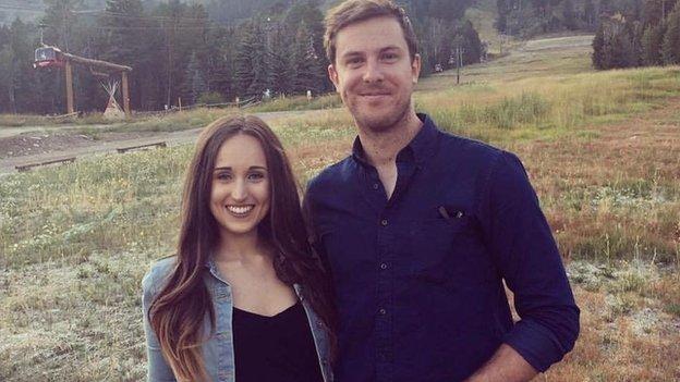 Chris Keogh and girlfriend Daisy Allen