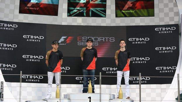 Brendon Leigh won the first Formula 1 eSports World Championship