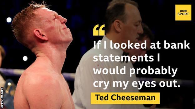 Ted Cheeseman looking dejected