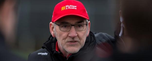 Tyrone manager Mickey Harte 'disappointed' with suggestions one of his players deliberately injured opponent