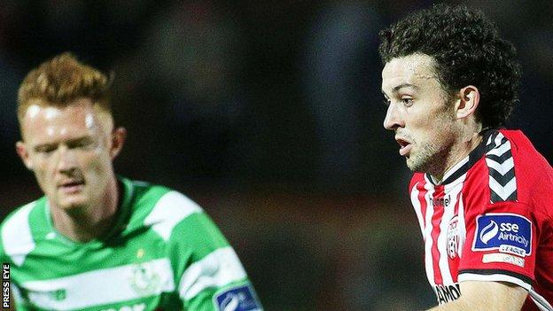 Derry City were held to a fourth successive draw at home in the league