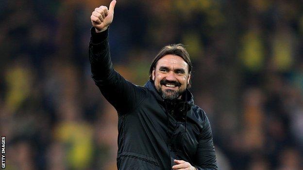 Norwich boss Daniel Farke