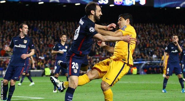 Barcelona matchwinner Luis Suarez