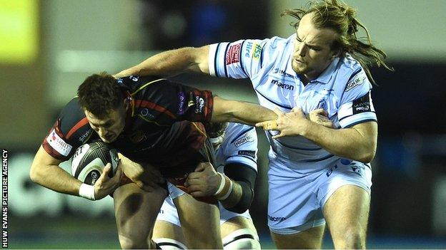 Cardiff Blues v Dragons