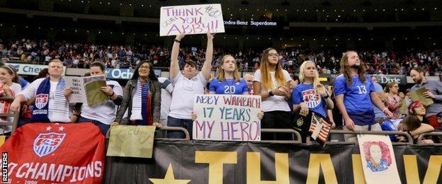 Abby Wambach fans