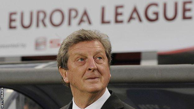 Roy Hodgson at the Europa League final