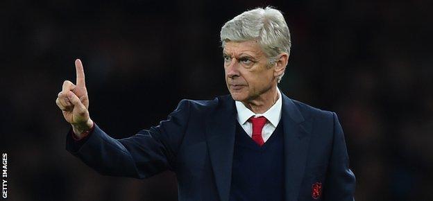 Arsenal boss Arsene Wenger is the Premier League's longest-serving manager