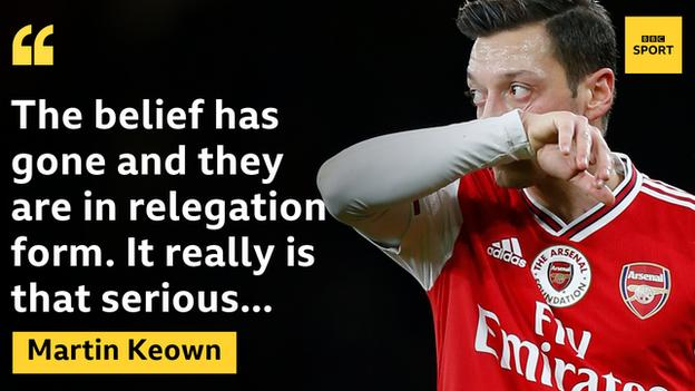 """Former Arsenal defender Martin Keown says Arteta has """"an awful lot of work to do"""""""