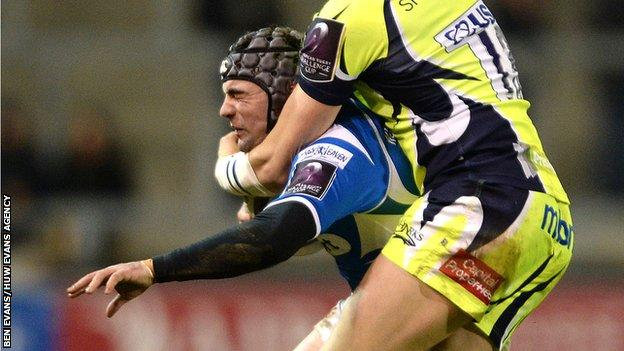 Ex-Dragons centre Adam Hughes was forced to retire in 2018 at the age of 28 due to a brain injury