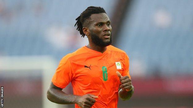 Ivory Coast and AC Milan's Franck Kessie