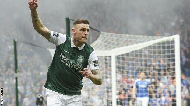Anthony Stokes scored twice in the Scottish Cup final