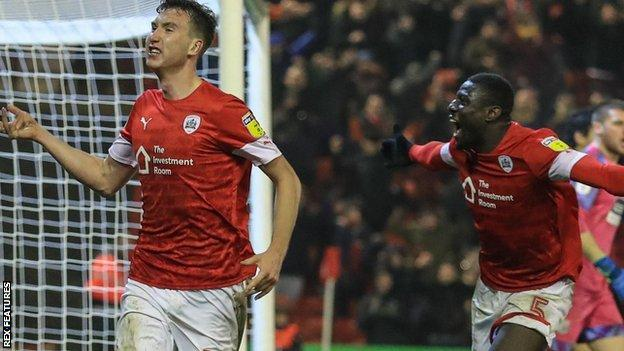 Finnish defender Aapo Halme rescued Barnsley with his third goal in the Tykes' last six home games