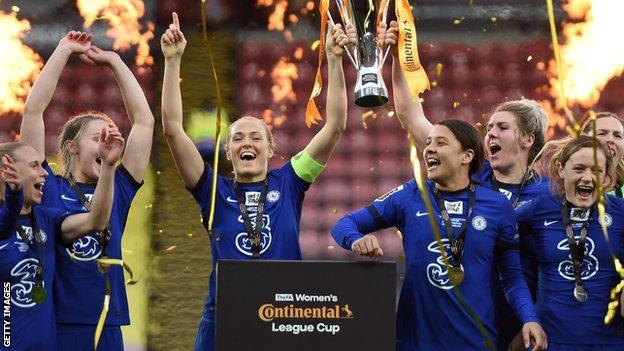 Chelsea levanta la Copa de la Liga Continental