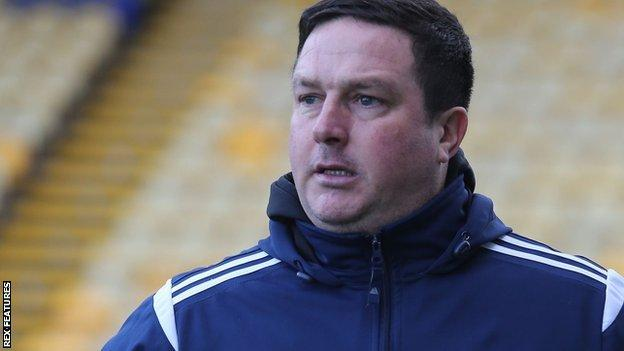 Former Mansfield, Torquay, Barrow and Guiseley boss Paul Cox has been in charge at Kettering since 2019