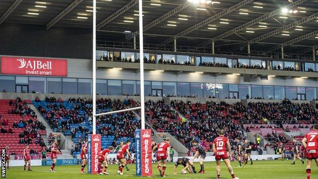 Salford Red Devils are fourth in Super League after winning two of their three games this season