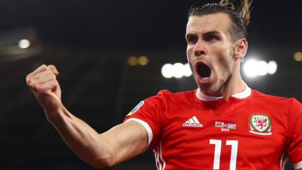 European Championship 2020 qualifier: Wales 2-1 Azerbaijan