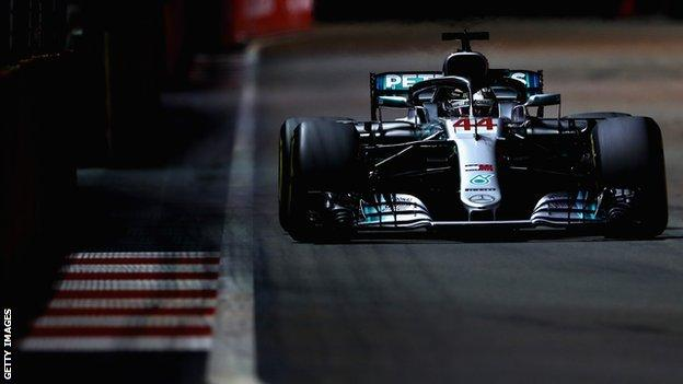 Hamilton produced one of the best laps of his career to take pole in Singapore