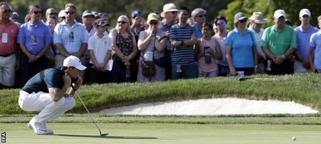 """McIlroy says he needs to have a """"good, hard look"""" at his putting"""