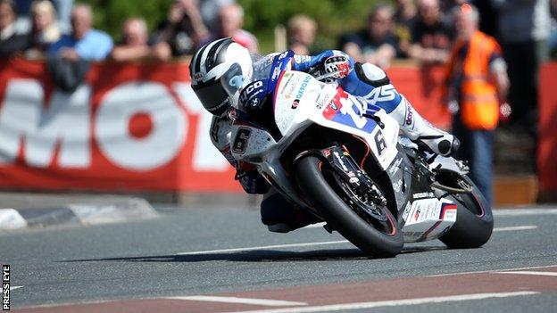 William Dunlop has left the Tyco BMW team