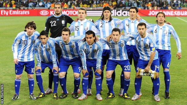 Argentina at the 2010 World Cup