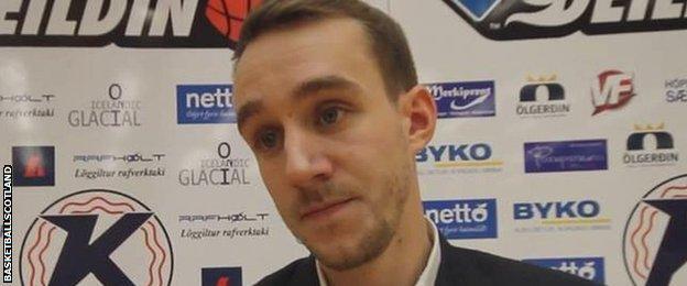 Scotland's new men's basketball national performance coach Erik Olson