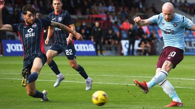 Liam Boyce goal v County