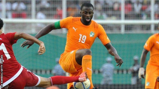 Ivory Coast captain Yaya Toure