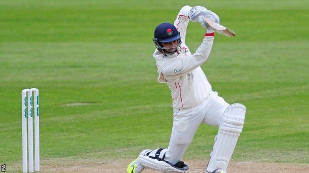 Alviro Petersen scored eight fours and two sixes in his 140-ball innings