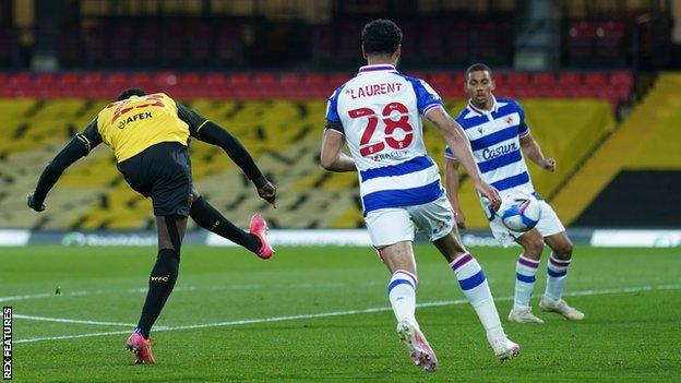 Ismaila Sarr scores his first goal