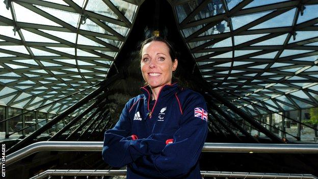 Helena Lucas became Great Britain's first ever Paralympic champion in sailing at London 2012