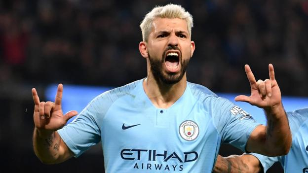 Man City 1-0 West Ham: Sergio Aguero scores penalty to seal win for City thumbnail