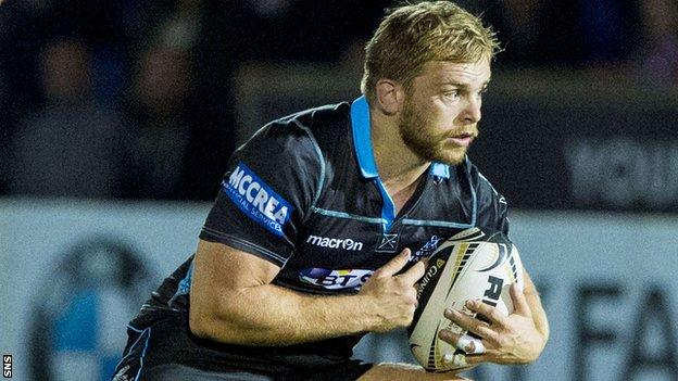 Glasgow Warriors hooker Pat MacArthur