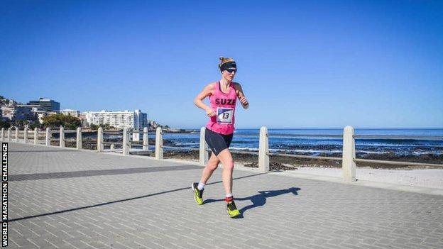 Susannah Gill in Cape Town