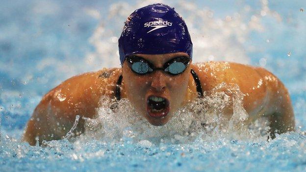 British Para-swimmer Stephanie Millward