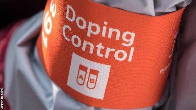 Doping armband