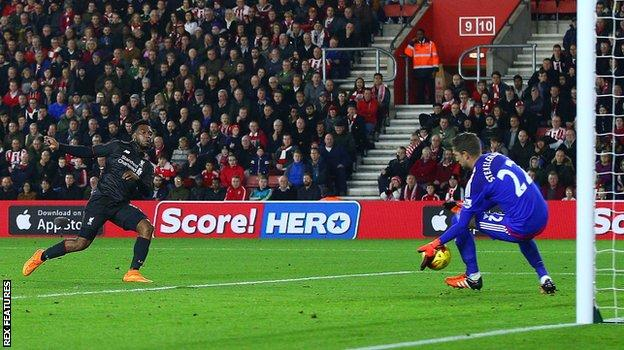 Daniel Sturridge's second goal