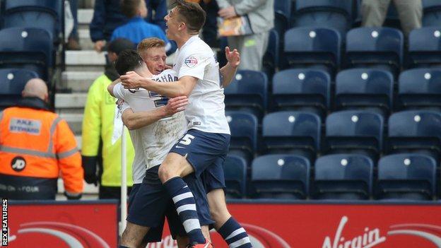 Eoin Doyle celebrates scoring