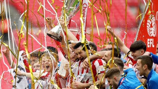Lincoln City made their first trip to Wembley in the club's 133-year history