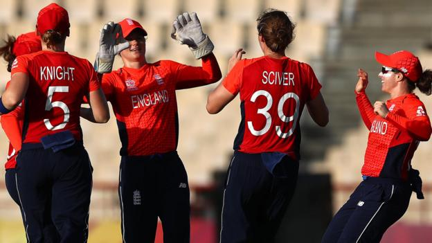 Women's World Twenty20: England beat Bangladesh after more rain in St Lucia